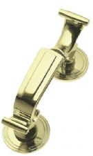 Doctor Door Knocker in Polished Brass